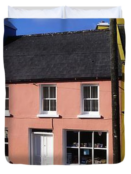 Eyries Village, West Cork, Ireland Duvet Cover by The Irish Image Collection