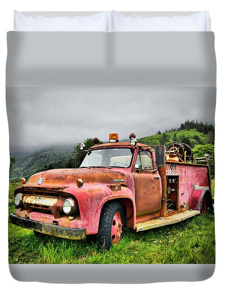 Faithful Servant Duvet Cover by Nena Trapp
