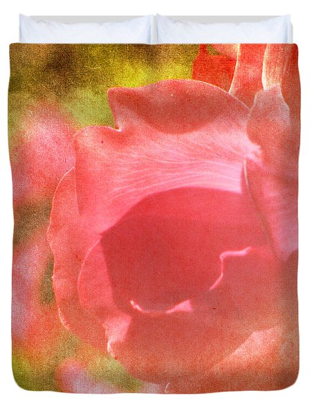 Falling In Love Duvet Cover by Amy Tyler