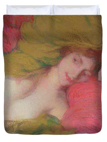 Farniente Duvet Cover by Edmond-Francois Aman-Jean