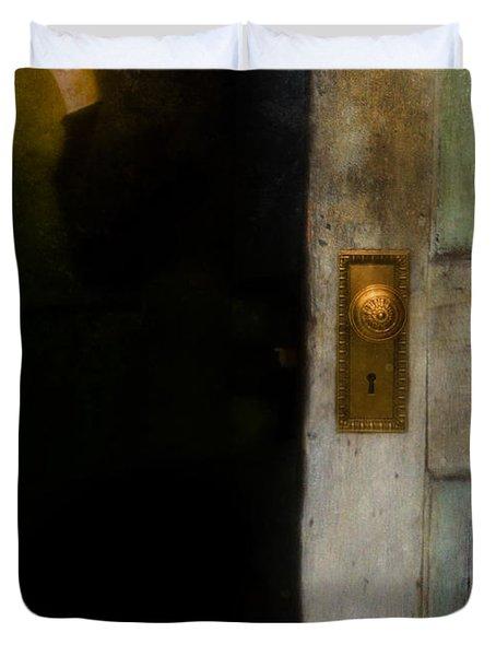 Fear Duvet Cover by Jill Battaglia