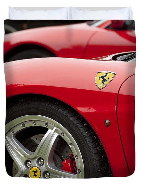 Ferraris 5 Duvet Cover by Jill Reger