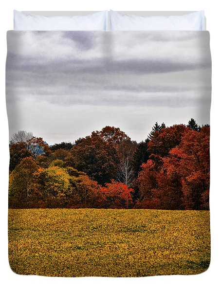 Fields Of Gold Duvet Cover by Bill Cannon