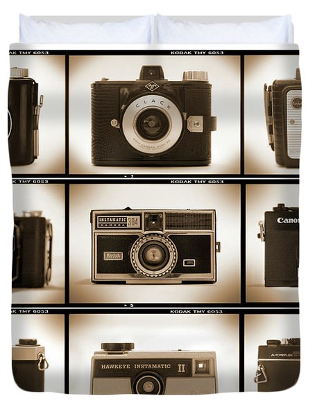 Film Camera Proofs 1 Duvet Cover by Mike McGlothlen