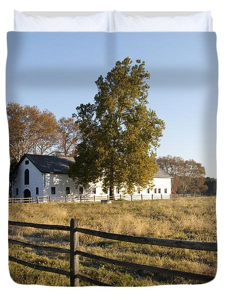 Flourtown Morning Duvet Cover by Bill Cannon