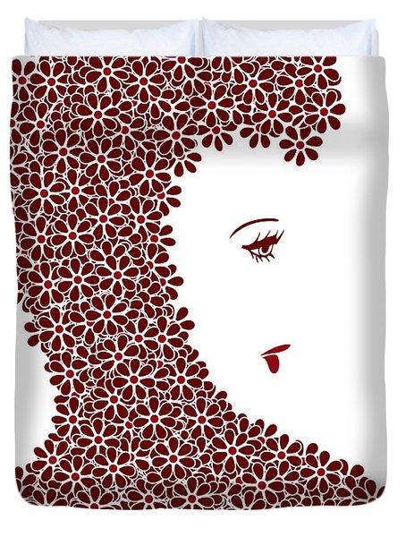 Flower Fashion Duvet Cover by Frank Tschakert