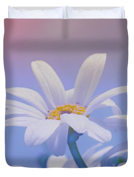 Flower For You Duvet Cover by Jutta Maria Pusl