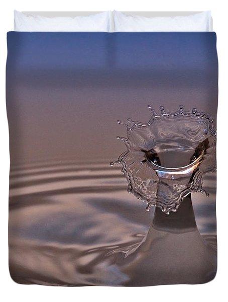 Fluid Flower Duvet Cover by Susan Candelario