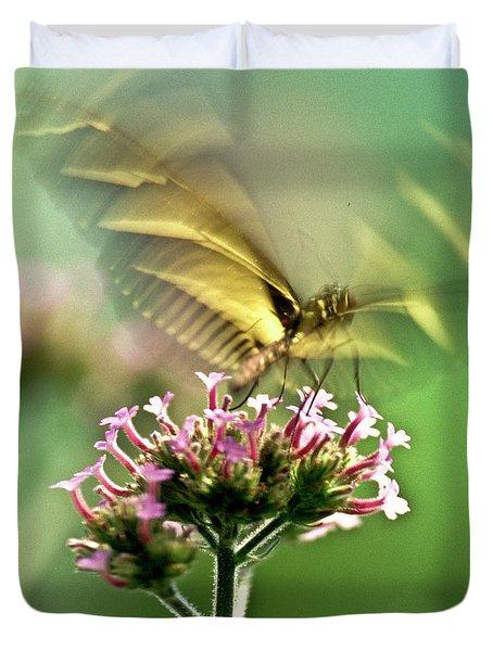 Fluttering Butterfly Duvet Cover by Heiko Koehrer-Wagner