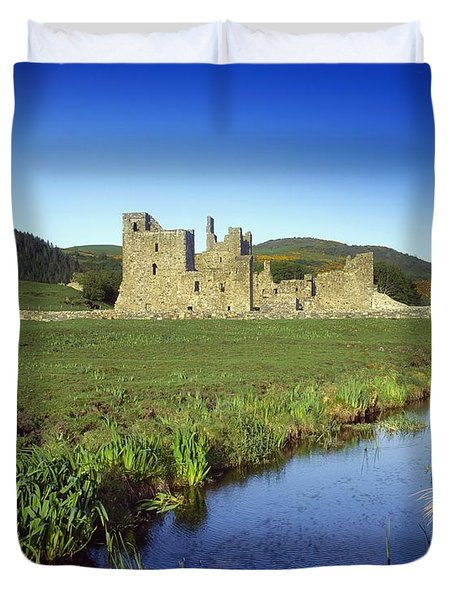 Fore Abbey, Co Westmeath, Ireland Duvet Cover by The Irish Image Collection