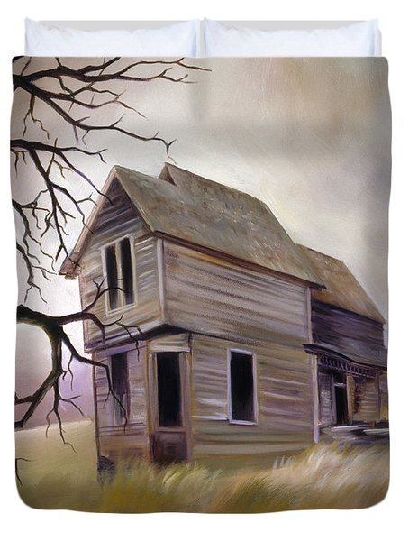 Forgotten But Not Gone Duvet Cover by James Christopher Hill