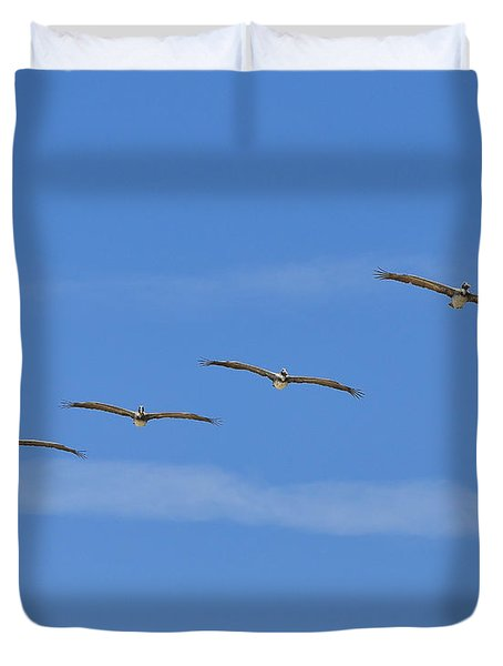 Four Flyers Duvet Cover by Al Powell Photography USA