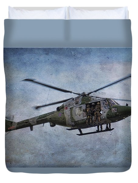 Fours Up Duvet Cover by Dave Godden