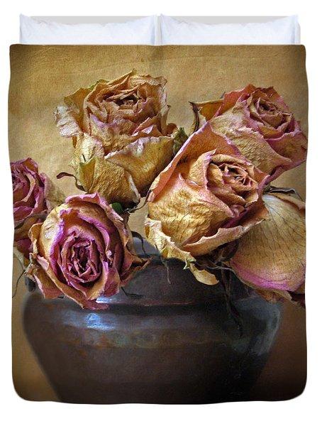 Fragile Rose Duvet Cover by Jessica Jenney