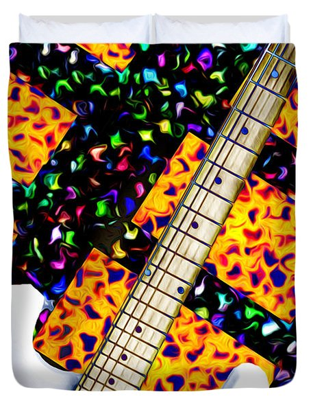 Frets Duvet Cover by Bill Cannon