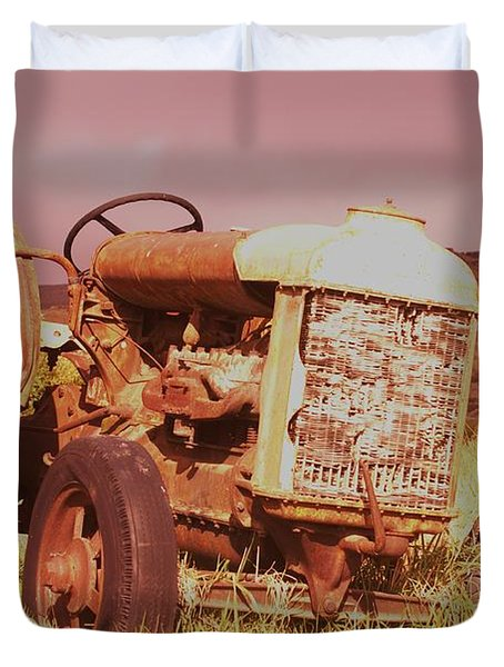 From Harvests Gone By   Duvet Cover by Jeff Swan