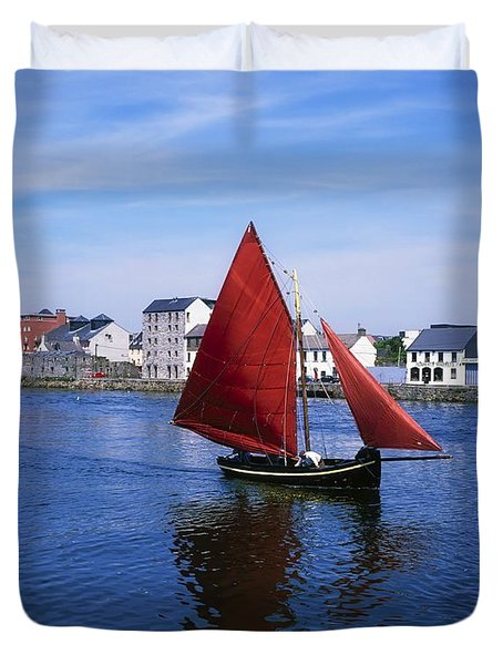 Galway, Co Galway, Ireland Galway Duvet Cover by The Irish Image Collection