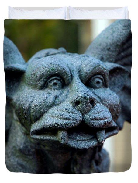 Gargoyle Duvet Cover by LeeAnn McLaneGoetz McLaneGoetzStudioLLCcom