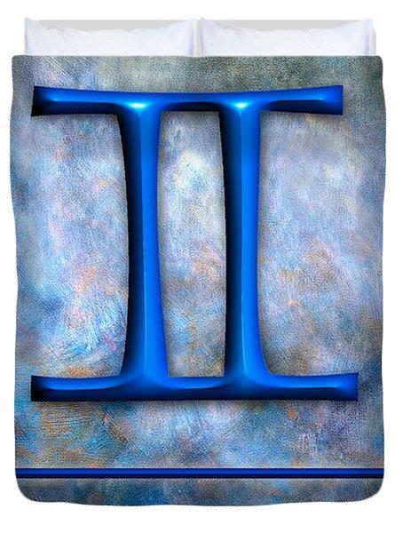 Gemini  Duvet Cover by Mauro Celotti