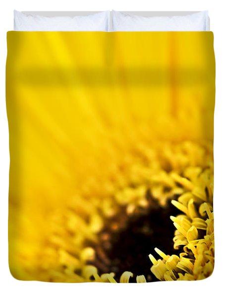 Gerbera Flower Duvet Cover by Elena Elisseeva