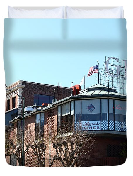 Ghirardelli Chocolate Factory San Francisco California . 7d14093 Duvet Cover by Wingsdomain Art and Photography