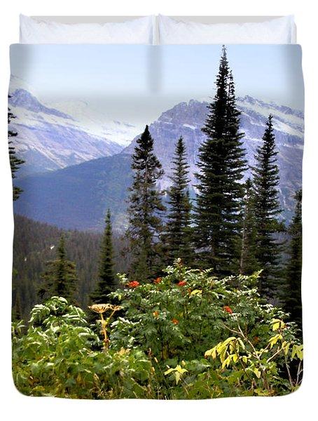 Glacier Scenery Duvet Cover by Susan Kinney