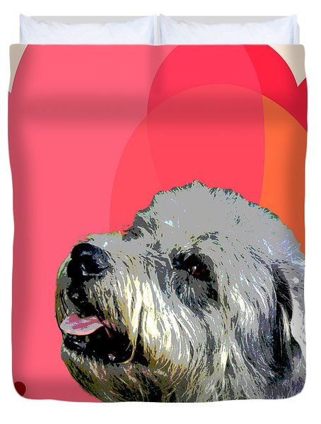 Glen Of Imaal Terrier Duvet Cover by One Rude Dawg Orcutt