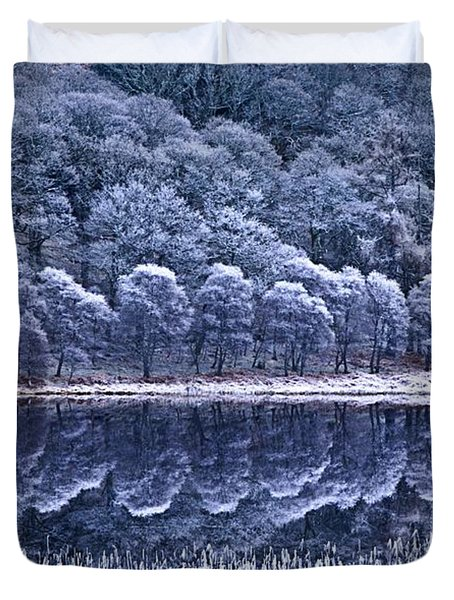 Glendalough National Park, County Duvet Cover by Richard Cummins