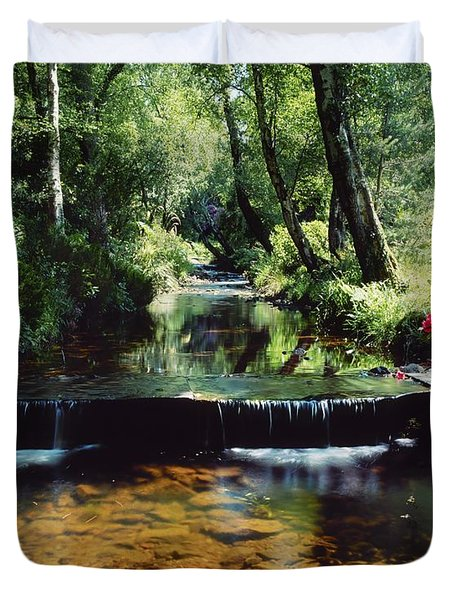 Glenleigh Gardens, Co Tipperary Duvet Cover by The Irish Image Collection
