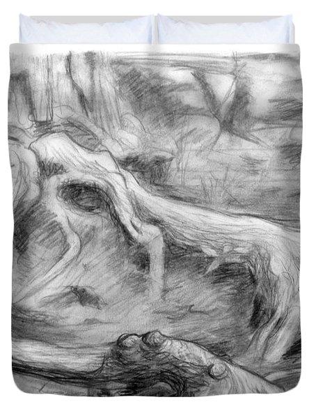 Gnarled Duvet Cover by Adam Long