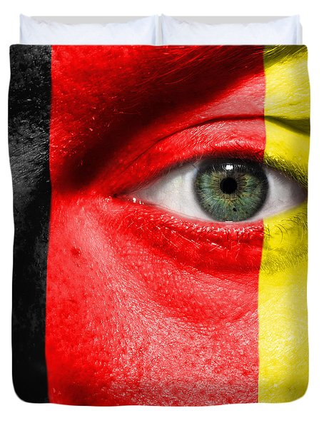 Go Belgium Duvet Cover by Semmick Photo