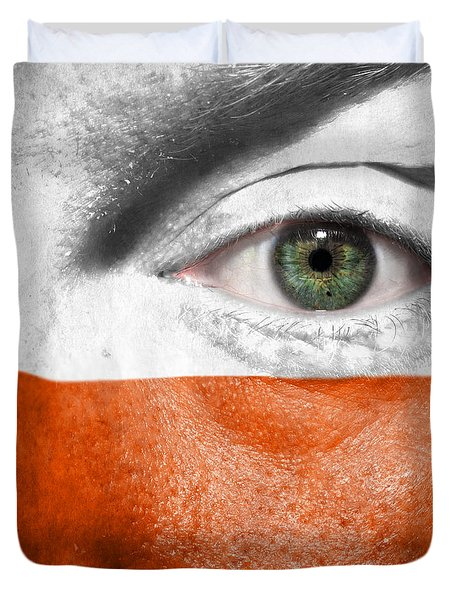 Go Poland Duvet Cover by Semmick Photo