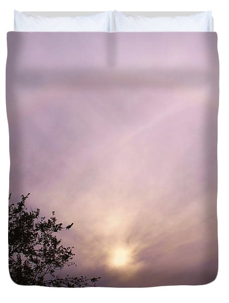 God's Masterpiece Duvet Cover by Carolyn Wright