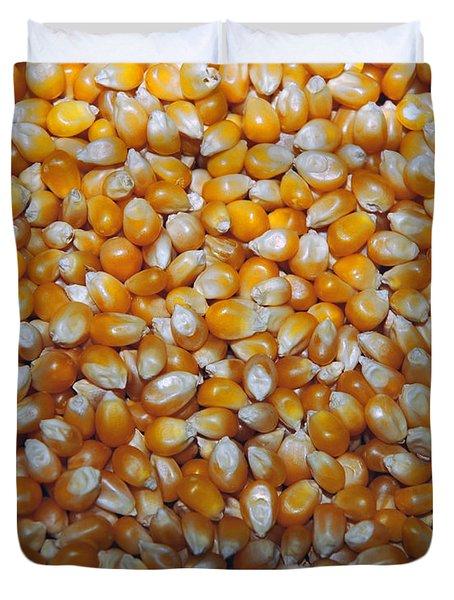 Golden Corn Duvet Cover by LeeAnn McLaneGoetz McLaneGoetzStudioLLCcom