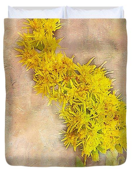 Goldenrod Duvet Cover by Judi Bagwell
