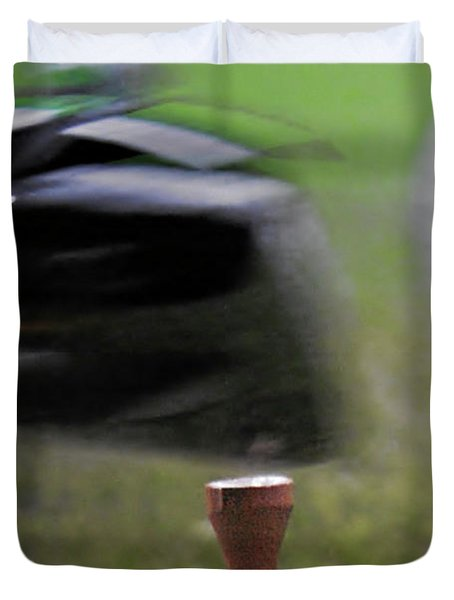 Golf Sport or Game Duvet Cover by Christine Till