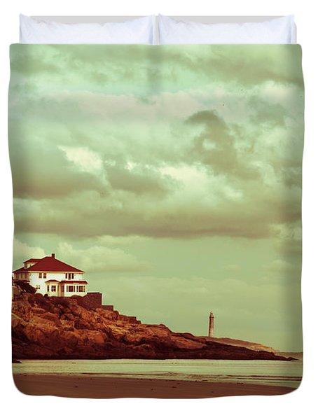 Good Harbor Beach Duvet Cover by Dana DiPasquale