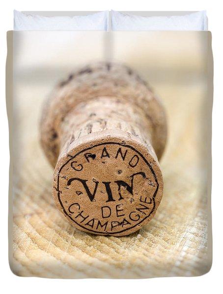 Grand Vin De Champagne Duvet Cover by Frank Tschakert