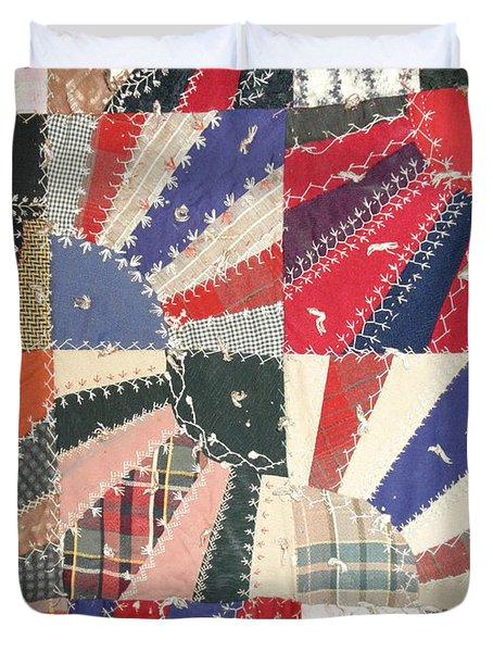 Grandma Baird's Quilt Duvet Cover by Wayne Potrafka