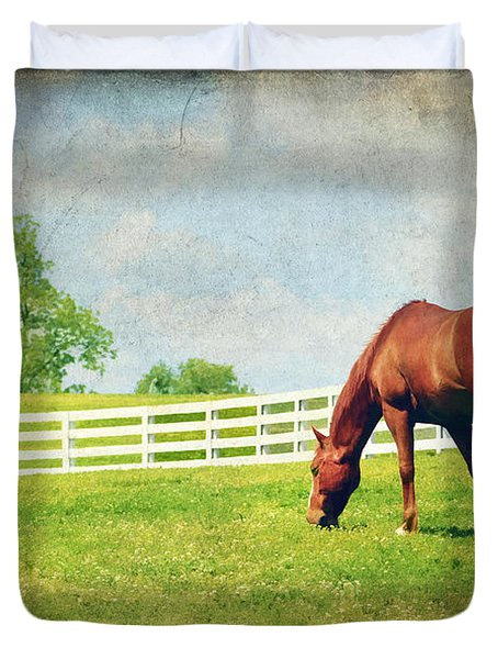 Grazing Duvet Cover by Darren Fisher