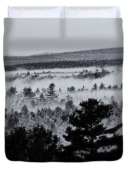 Ground Fog Duvet Cover by Susan Capuano