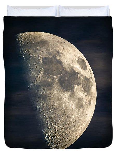 half moon III Duvet Cover by Hannes Cmarits