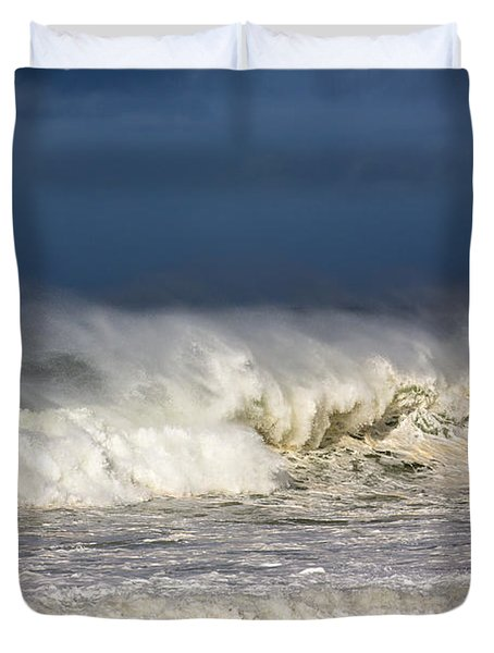 Hanging In There Duvet Cover by Avalon Fine Art Photography