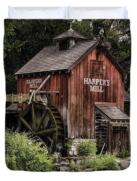 Harpers Mill Duvet Cover by Heather Applegate