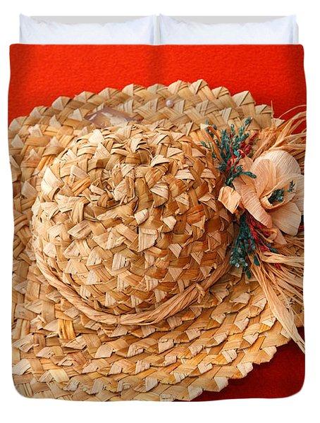 Hat Duvet Cover by Gaspar Avila