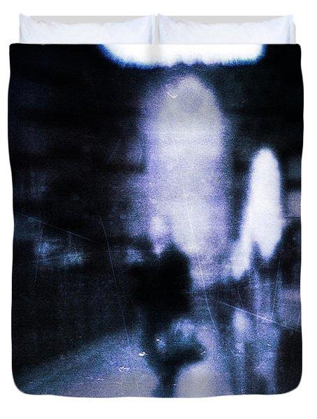 Haunted Duvet Cover by Andrew Paranavitana