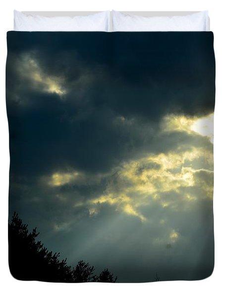 Heaven Sent Duvet Cover by Maria Urso