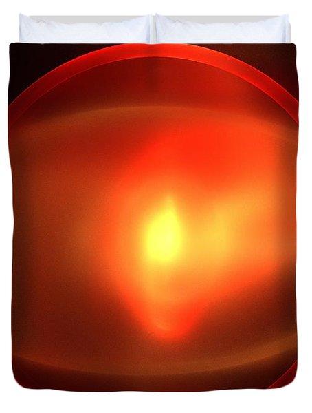 Heliosphere Duvet Cover by Kim Sy Ok