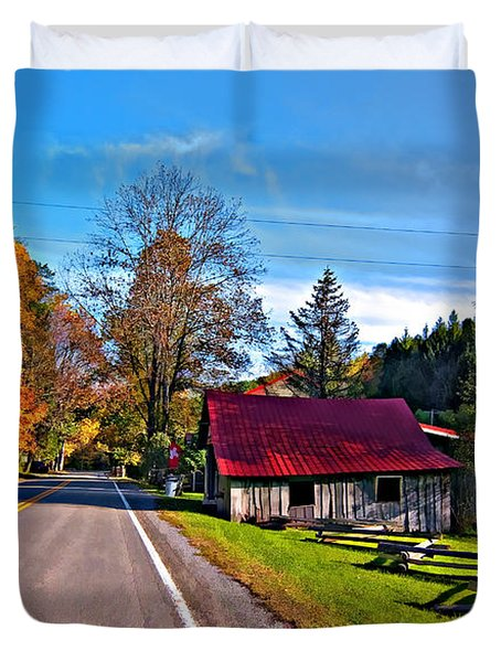 Helvetia WV painted Duvet Cover by Steve Harrington
