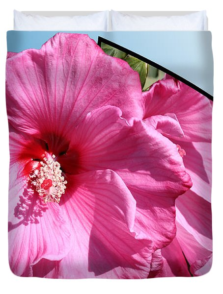 Hibiscus Duvet Cover by Shane Bechler